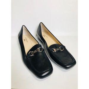 Ann Klein IFlex Magoldene Leather Flats Sz. 12 NEW